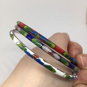 Trio of Enamel Bracelets 🌺 3 for $20! 🌺